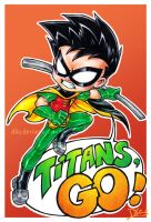 Titans, GO! by Dlie