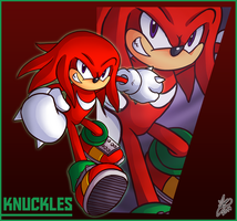 Bro Month 04 - Knuckles by Ian-the-Hedgehog