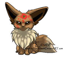Basic Eevee is not amused... by Lily-Mae13