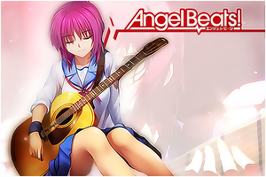 Angel Beats Iwasawa Poster by Jay1pl