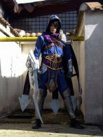 Talon Blade's Shadow cosplay from League of Legend by NoctisLucisCaelum000