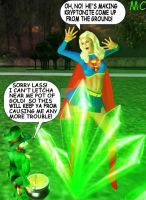 Supergirl's Leprechaun Peril by The-Mind-Controller