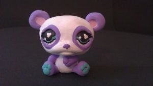 MLPS panda by ColleensCritters