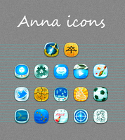 Anna icons by jjfwh
