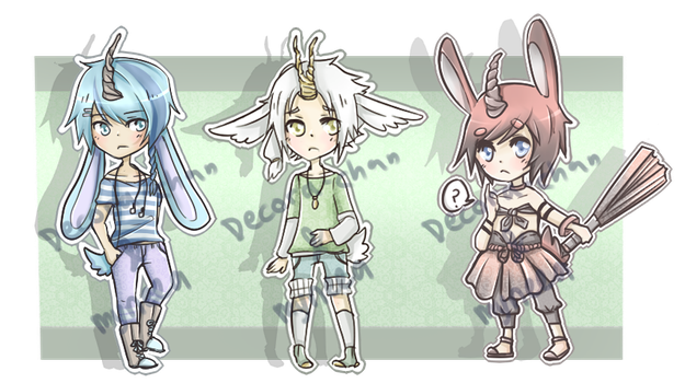 Miraj Bunny Adopt Collab: Closed by Decora-Adopts