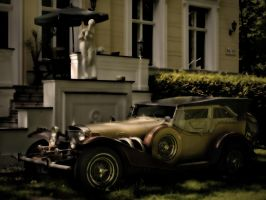 vintage car by phoelixde