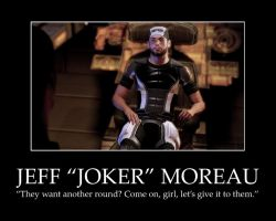 Jeff 'Joker' Moreau by JercyFelidae