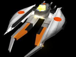 spacefighter by WoundedCoast