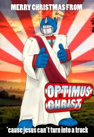 Optimus Christ by JoshKE