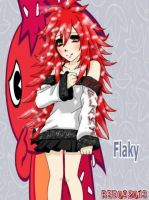 Flaky - HTF anime version by redichiyami