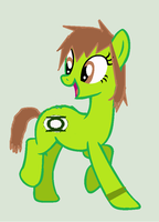 Victoria The Green Lantern Pony (My Ponysona) by Xiaolin101
