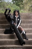 Black Rock Shooter Cosplay 2 by rizzle2k7