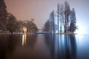 winter in my park by scata