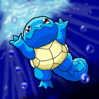 Squirtle by Mewtwofan