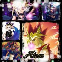 Atem collage by Xendrak18