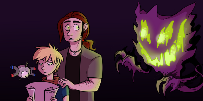 Wrong turn at Lavender Town by Diguter