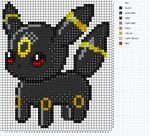 Umbreon Pattern by H3LLoK66aren99