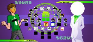 Homestuck The Game A. Hussie VS Doc Scratch by Video320