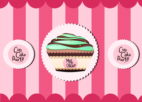 Mint of Chocolat - Cup Cakes by Citronade-Arts