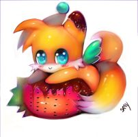 Tails Chao. by Sukesha-Ray