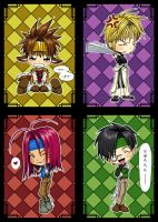 Chibi Sanzo Party by kagaminoir