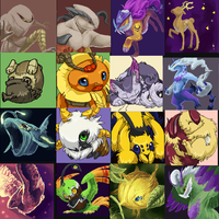 iScribble Pokemon Challenge 2 by Silverbirch