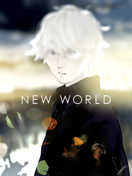 NEW WORLD by loundraw
