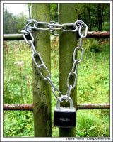 Chain and Padlock by anotherview
