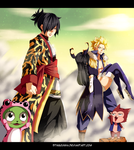 Fairy Tail 388 - Sabertooth Arrives! by StingCunha