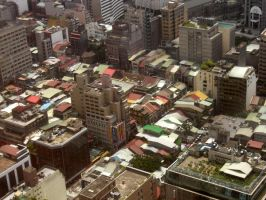 Taipei Rooftops by cncplyr