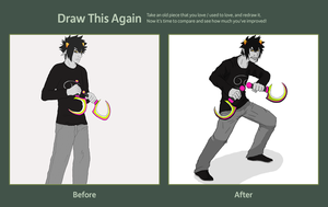 Draw This Again: Karkat Vantas by CloakedNobody