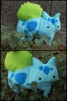 A Wild Bulbasaur Attacked!! by Toiea