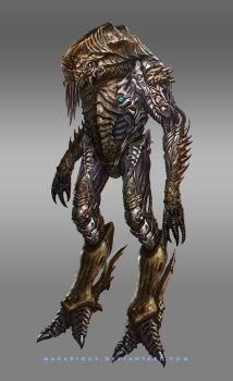 character concept Insectoid by macarious
