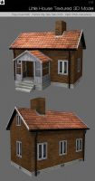 Little House Textured 3d model by HollowIchigoBanki
