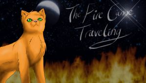 The fire came travelling by fluffylovey