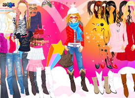 Rock Style Dressup game by willbeyou