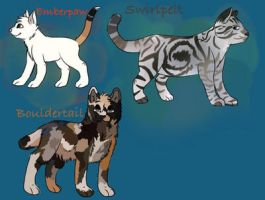 Warrior cat adopts! by SometimeSlime