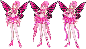 Fairy Senshi 10-Chaoverse Pink by LavenderSeaFairy