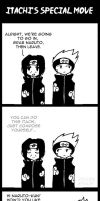 Itachi's Special Move by icyookami