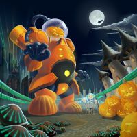 Sci-fi Halloween by Sempronski