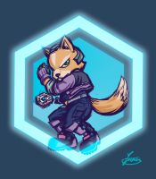 Fox McCloud by AldosKirin