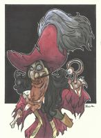 DISNEY ZOMBIE MASTERWORKS - CAPTAIN HOOK by leagueof1