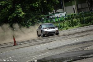 Drifting 240sx in the dirt by Caramanos2000