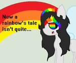 now a rainbow's tale isn't quite AS NICE (GIF) by SM-LOVEU
