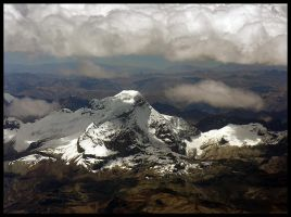 Andes from the air 1 by Dominion-Photography