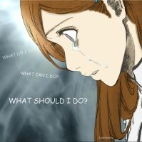 Orihime - Cry by lady-hinata