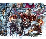 new avengers fcbd pages 8 9 by ColoristKamui