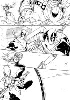DeadPool Thunderbolts Page by TheBoo