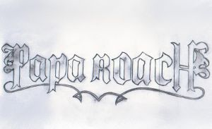 Papa Roach by bloody-poet