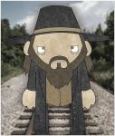 hell on railroad dude by twistedandgifted